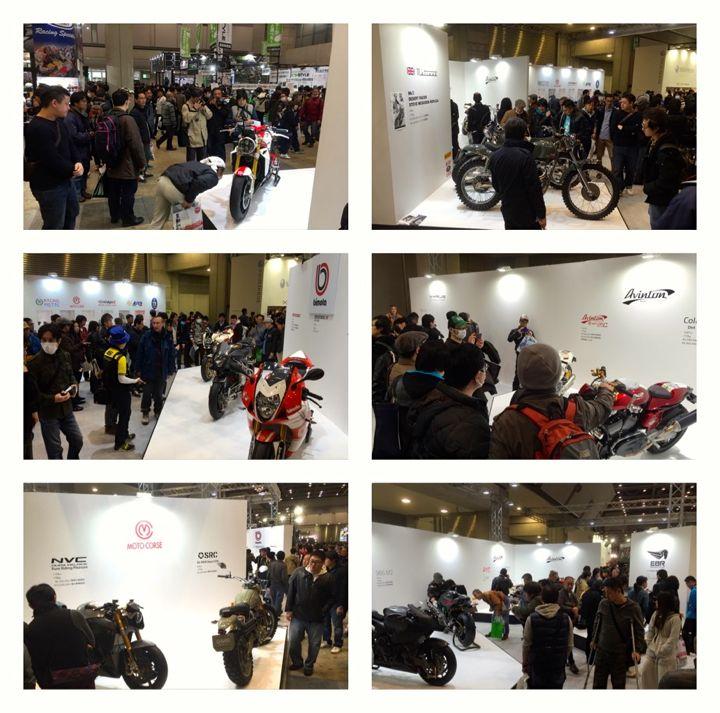 東京モーターサイクルショー2016モトコルセブースへのご来場ありがとうございます!