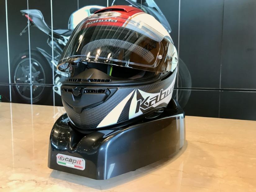 いよいよ夏!Capitヘルメットドライヤーが活躍します!!