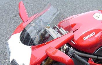 【商品のご案内++】 オプティカル ウインドスクリーン for Ducati 998 / 996 / 916 / 748