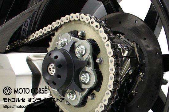 【商品のご案内++】 アクスルスライダー with チタニウム リア DVCタイプ for Ducati Streetfighter V4 / Panigale V4 / Diavel 1200