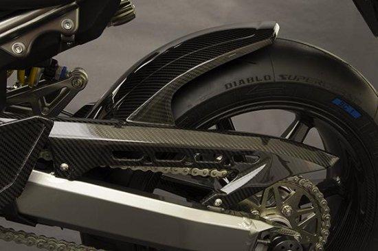 【商品のご案内++】 カーボン リアフェンダー ( ロングタイプ ) / ドライブチェーンカバー for Kawasaki Z900RS
