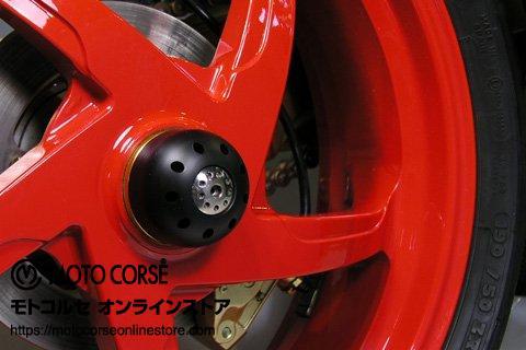 【商品のご案内++】 'アクスルスライダー with チタニウム リア for Ducati Hypermotard 821 / Streetfighter 848 / Monster S4RS'