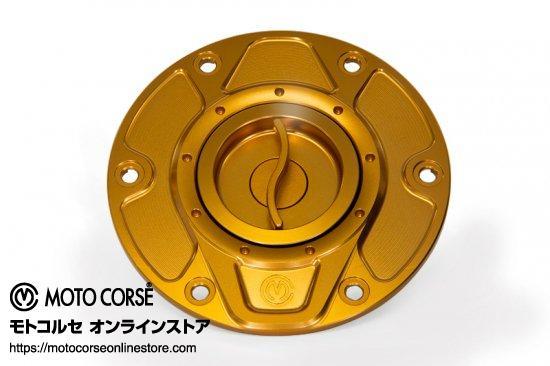 【商品のご案内++】 CNC ビレット フューエルタンクキャップ クイックオープンタイプ for Ducati Multistrada 1260 / Multistrada 1200 / Hypermotard 950