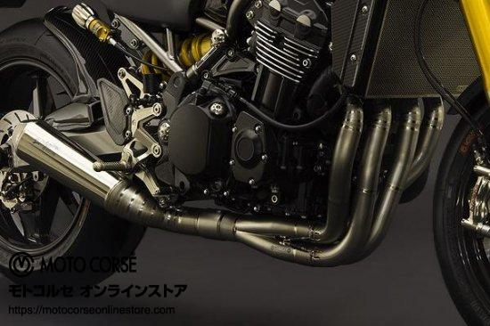 【商品のご案内++】 チタニウム エキゾースト フルシステム Evoluzione for Kawasaki Z900RS